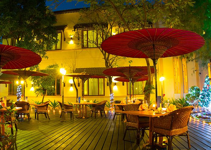 Outside Terrace Restaurant